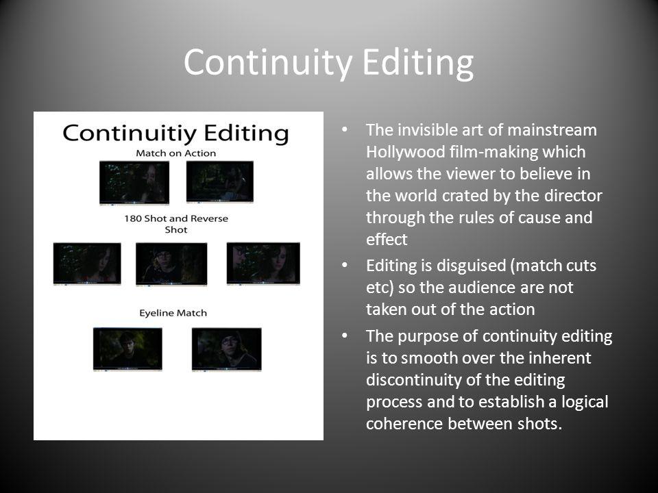 continuity editing