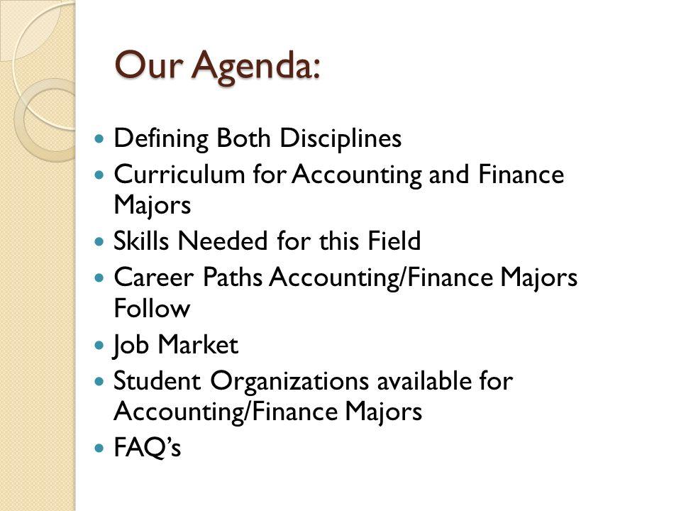Should i do accounting/finance?
