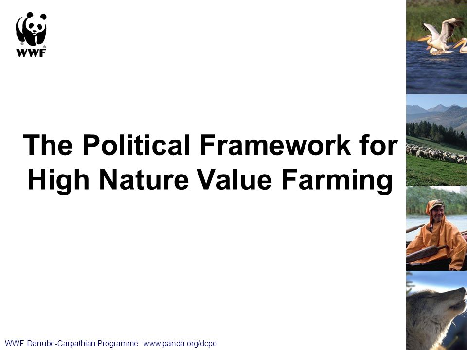 The Political Framework for High Nature Value Farming WWF Danube-Carpathian Programme