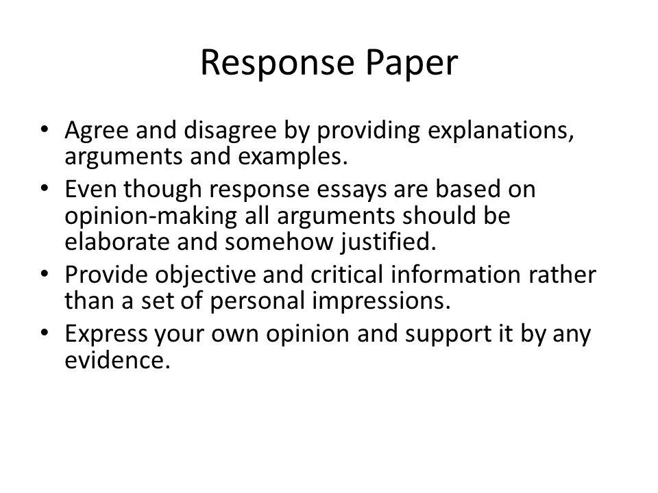 Agree or disagree essay