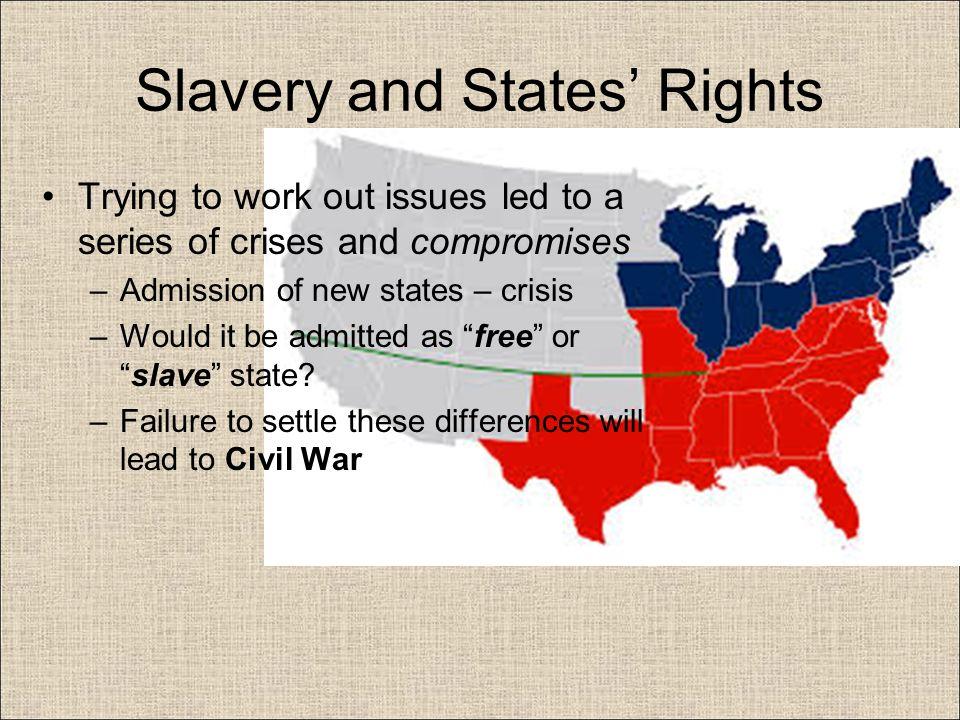 Civil war- states rights?