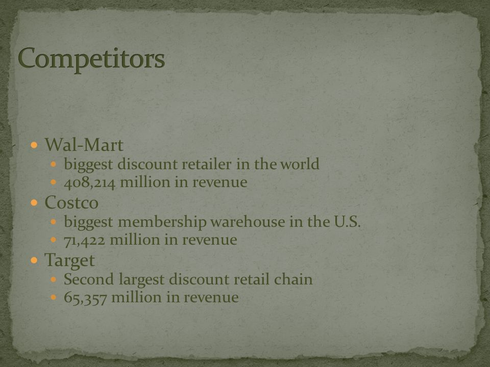 a overview of wal mart a largest retailer in the world
