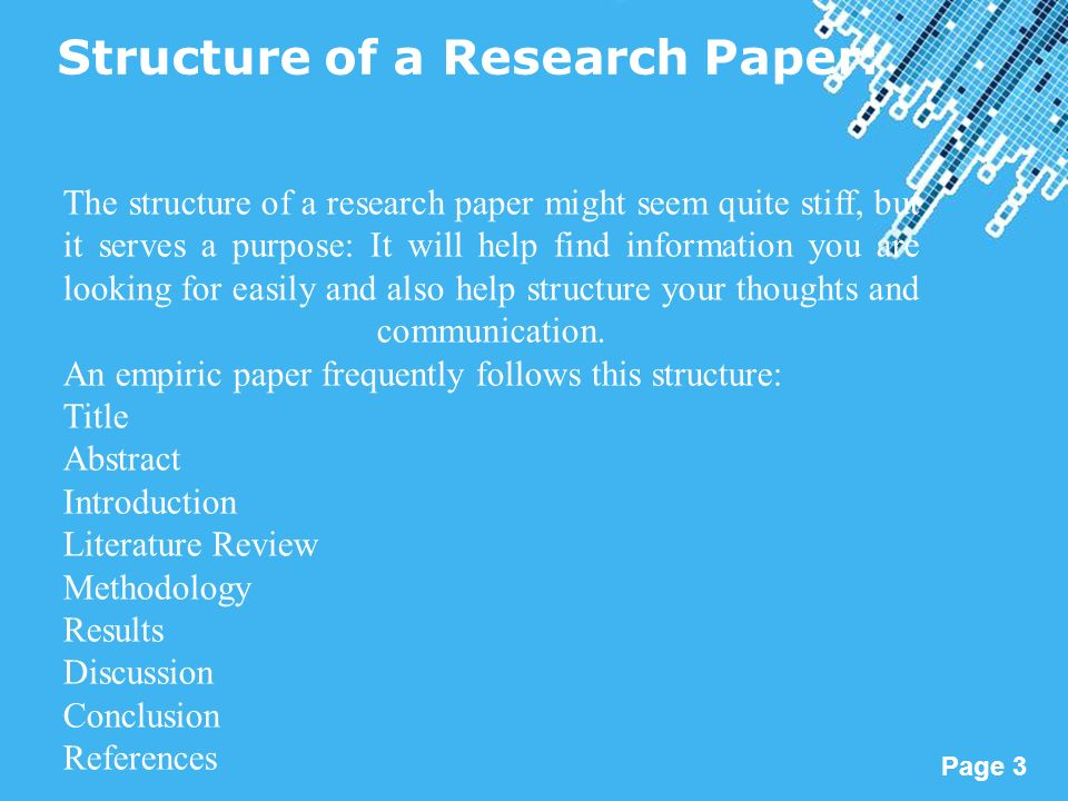 write intro paragraph research paper