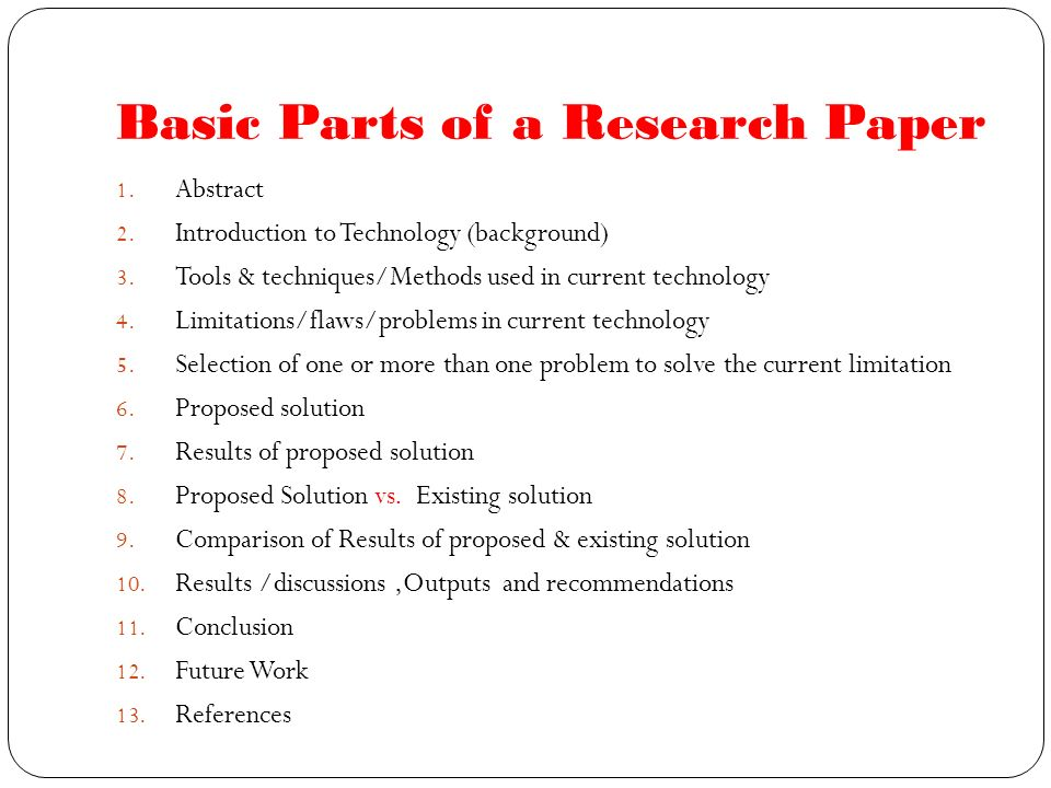 parts of introduction in research paper