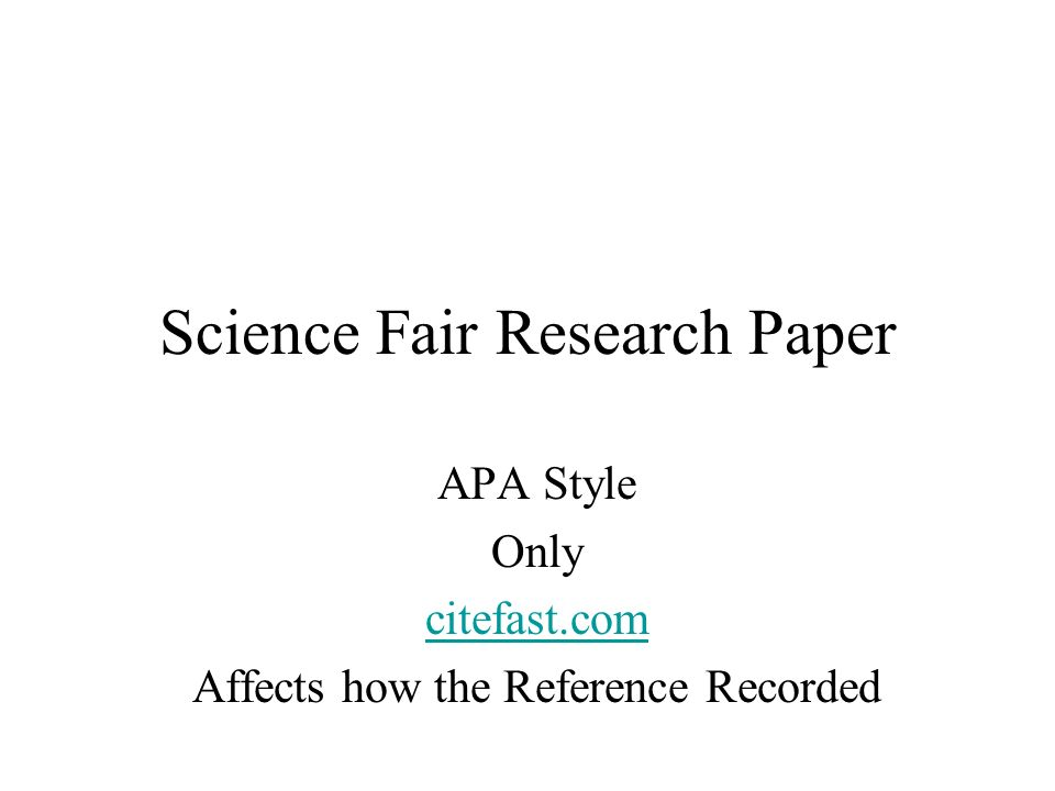 science project research paper guidelines 6 biology research paper format california state university, bakersfield department of biology v 2/19/2014.