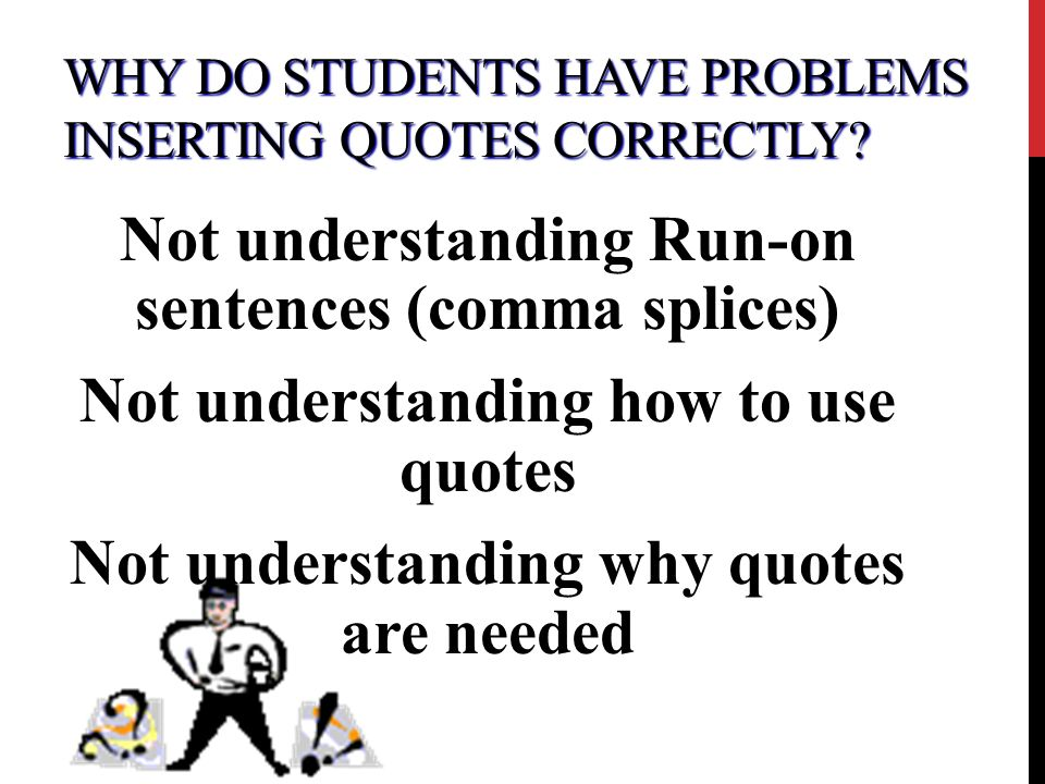 correctly quoting in essays How to use quotes effectively before you try to place the quote in your essay always remember to cite the quotes correctly with parenthetical citations.