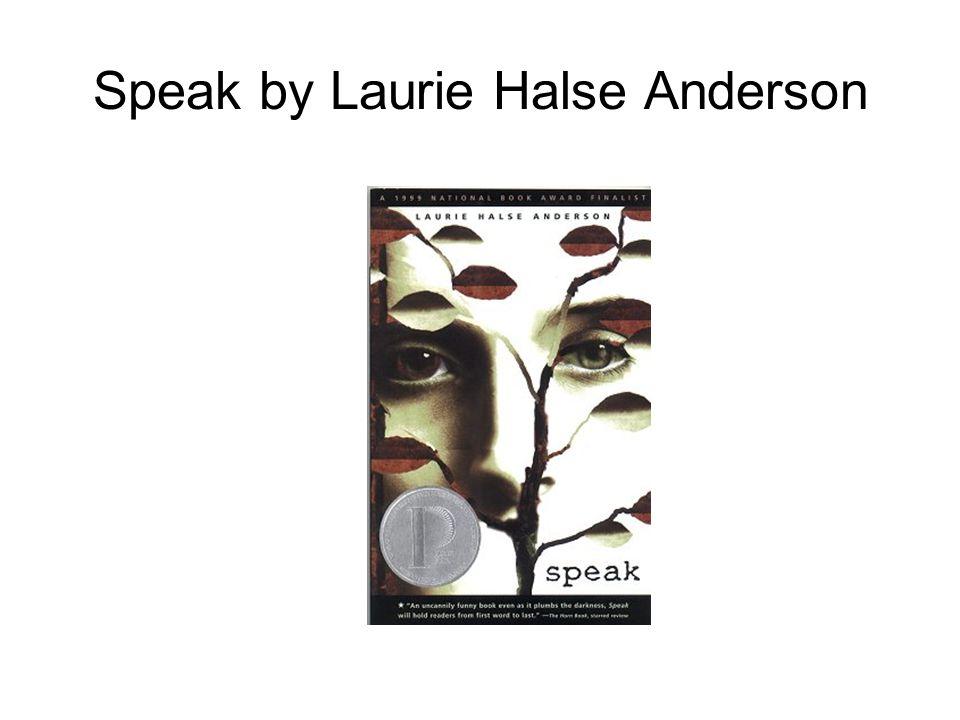 laurie halse andersons speak essay Novels by laurie halse anderson speak fever 1793 catalyst prom speak laurie halse anderson.