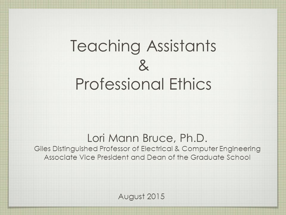 essay on professional ethics Professional ethics a profession is an occupation where the members have specialized training in a specific field so as to provide the best service to the society.
