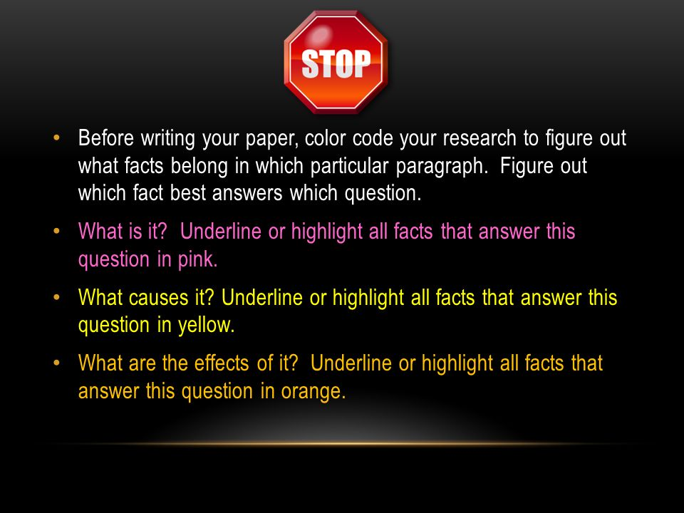 guidelines for writing a good research paper The person who did the work and wrote the paper is generally listed as the first author of a research paper start by writing a earlier editions also good.