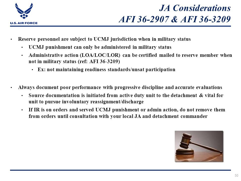 Air force assignments afi