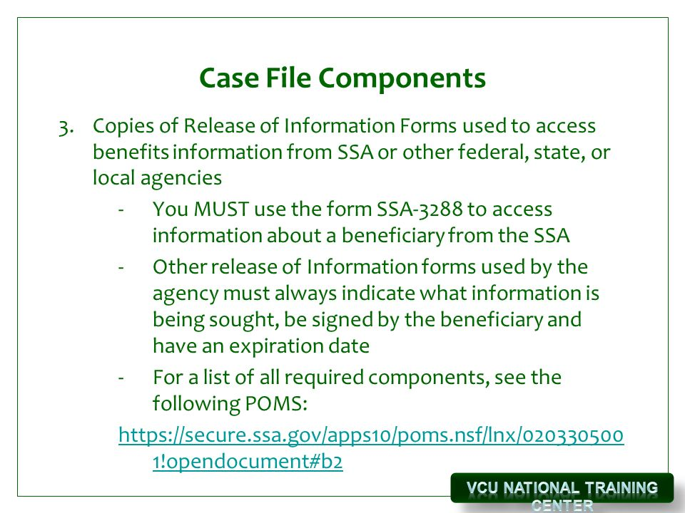 Wipa Case File Management Vcu-Ntc February 9, Ppt Download
