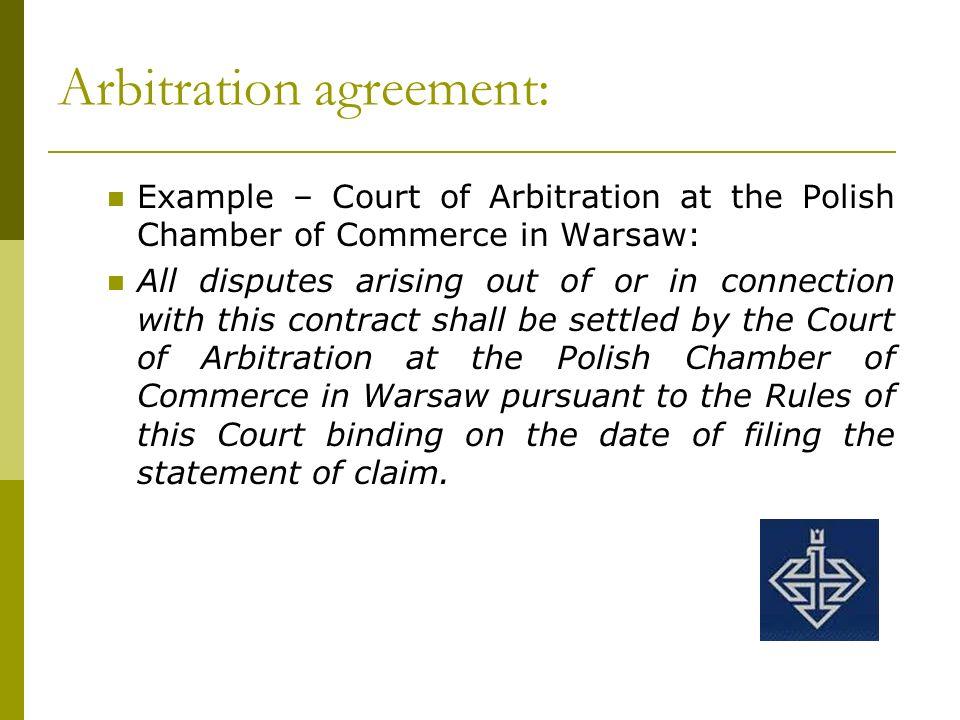 Arbitration In Poland Maciej Łaszczuk Justyna Szpara Rafał Morek