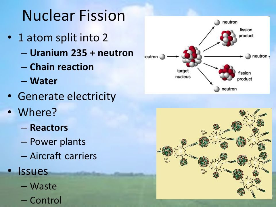 an essay on fission chain reactions Why is a nuclear chain reaction in a matter of microsecond that one first atom can go through 24 generations of chain reactions write an essay to briefly.