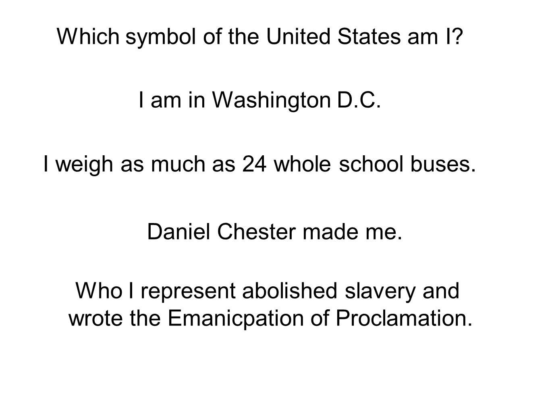 American symbol riddles by room 13 which symbol of the united which symbol of the united states am i i am in washington dc biocorpaavc