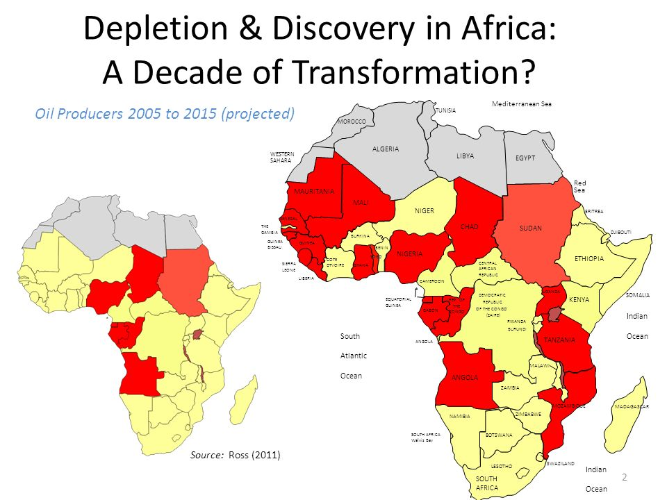 Depletion & Discovery in Africa: A Decade of Transformation.