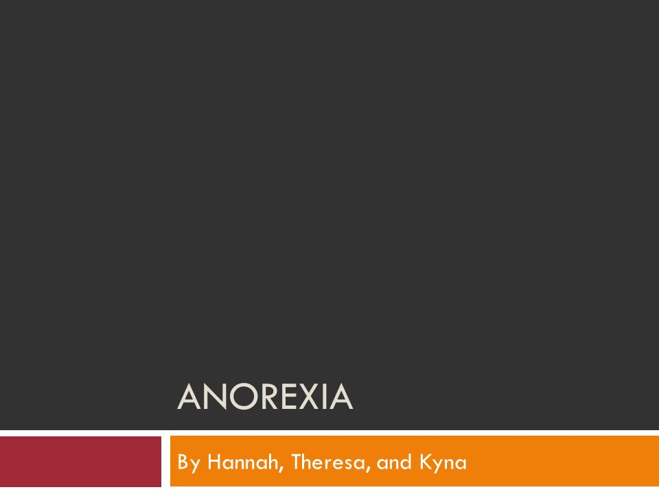 Anorexia hereditary