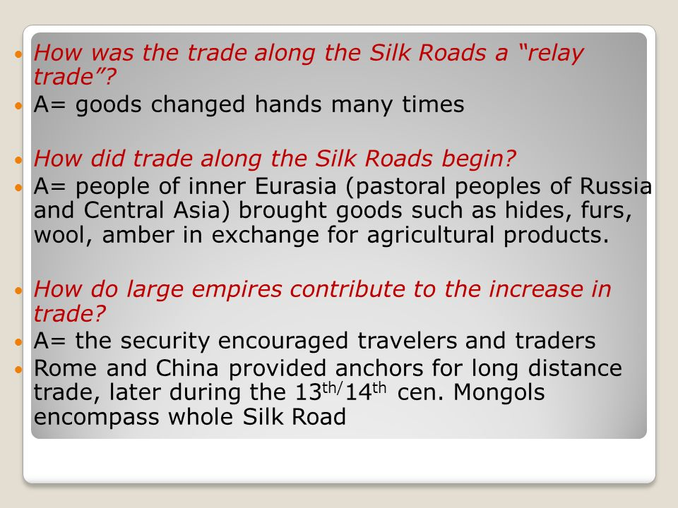 silk road change and continuity over time 200 1450