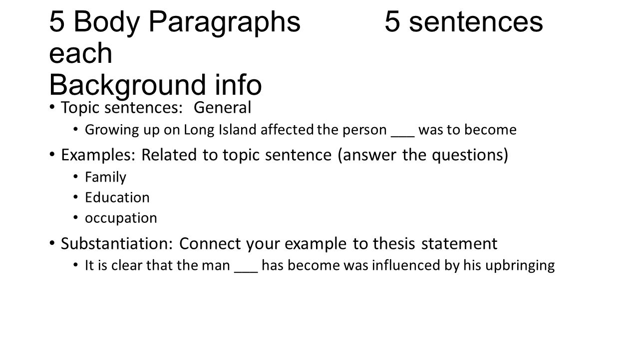 topic sentence example for compare and contrast essay