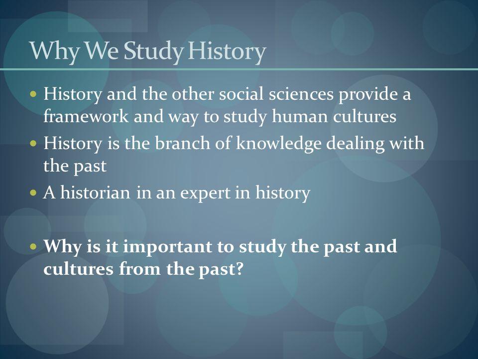 how historians study history