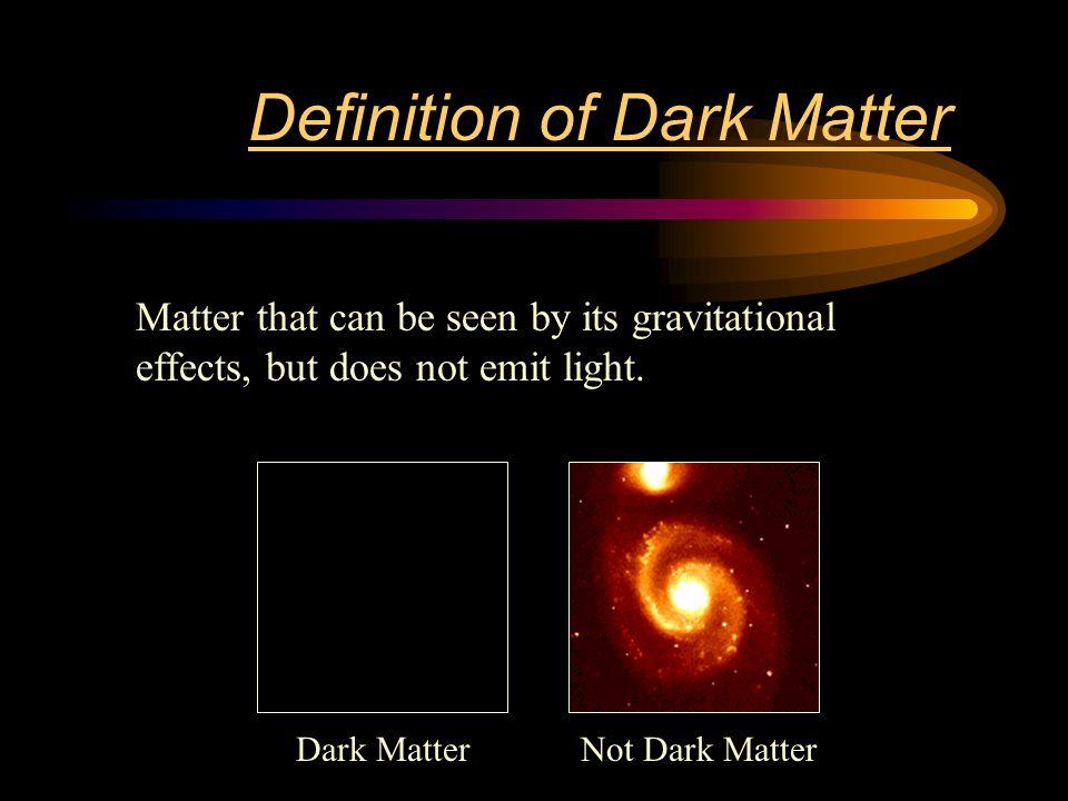 Image result for Dark matter definition
