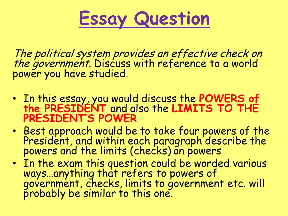 political systems thematic essay 2 essay