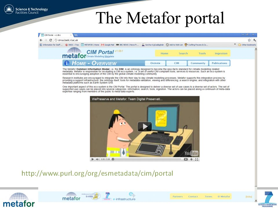 The Metafor portal