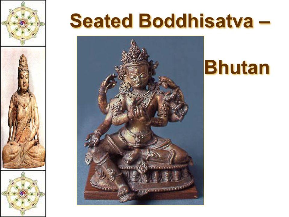 Seated Boddhisatva – 16c Bhutan