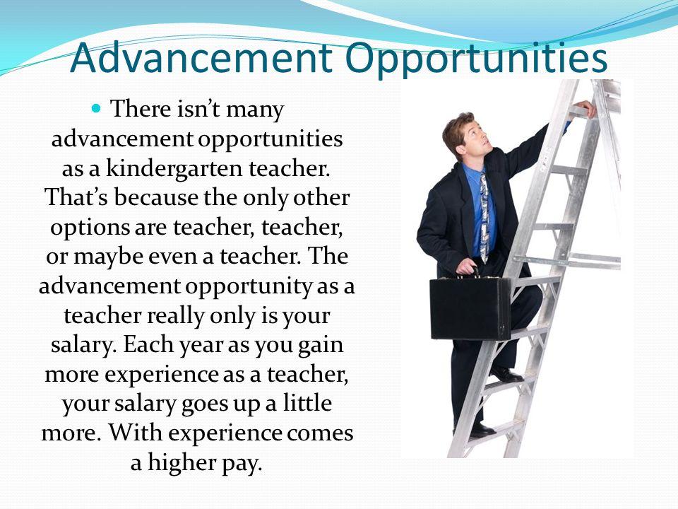 advancement opportunities