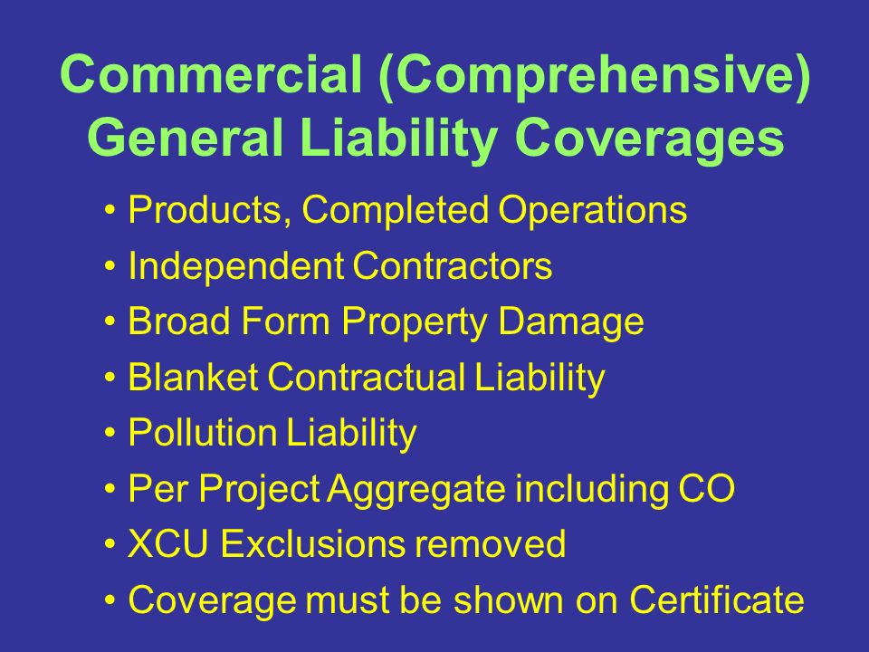 Construction & Vendor Contracts Insurance Requirements. - ppt download