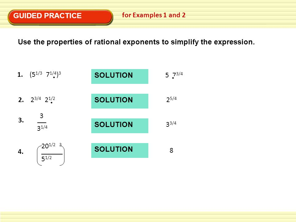 Worksheets On Rational Exponents With Answers worksheets for – Mayan Math Worksheets