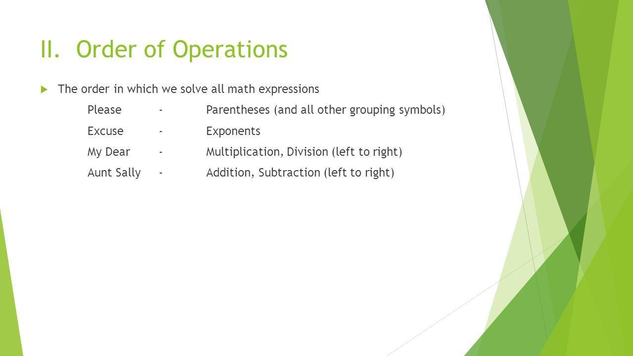 Symbols and expressions 1 1 i algebraic expressions 3 ii biocorpaavc Choice Image
