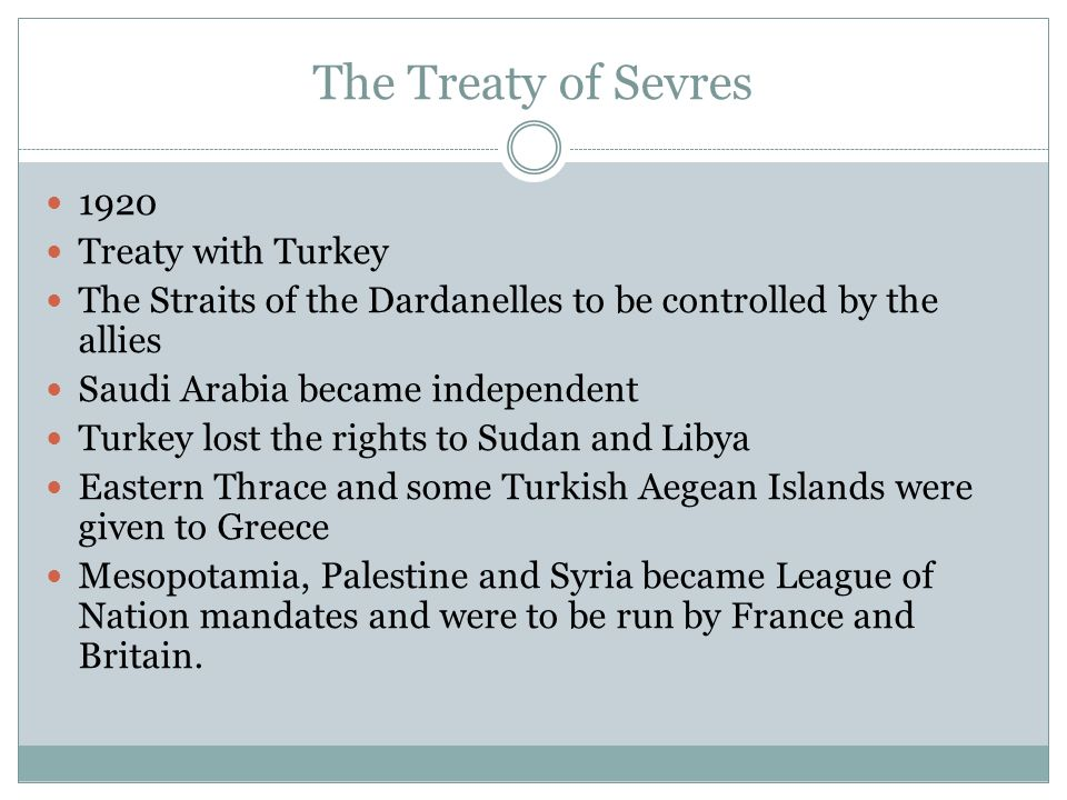DO NOW STUDY FOR MINUTES ICEBREAKER QUIZ AIMS OF LEADERS - Greece in the treaty of sevres