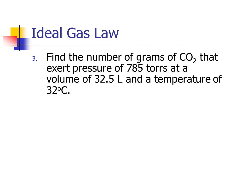 Behavior of Gas Molecules IDEAL GAS LAW AND GAS STOICHIOMETRY – Ideal Gas Law Problems Worksheet
