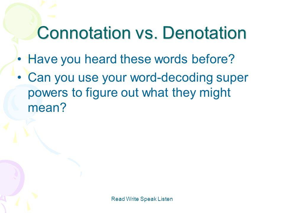 Connotation Vs Denotation Worksheet Checks Worksheet