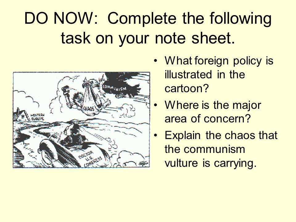 DO NOW: Complete the following task on your note sheet.