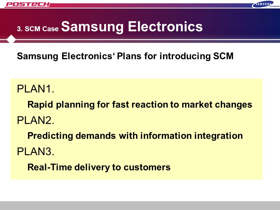 case study for samsung electronics Samsung electronics is a korea-based customer company that provided electronics this case study looks at the journey's that samsung went through, they went from a company focus on manufacturing to well known for the excellent product designs.
