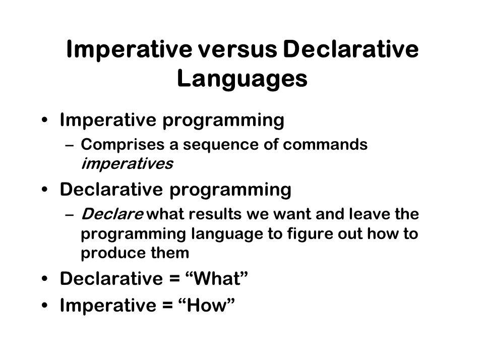 imperative vs declarative programming basis chandler