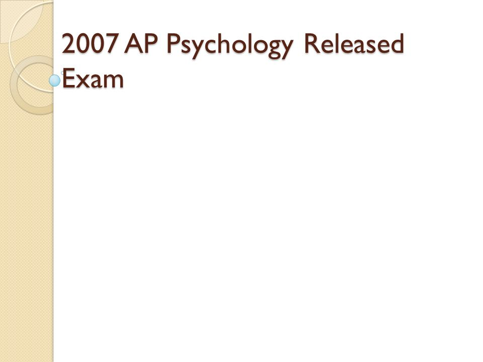 ap psychology essay questions personality