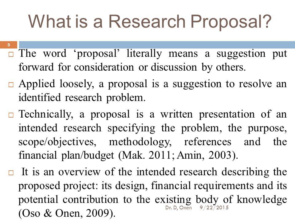 Introduction In Research Proposal Optoin