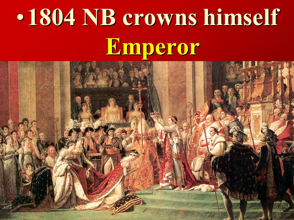 1799 NB uses the army to take over the government Coup d état (Military takeover)
