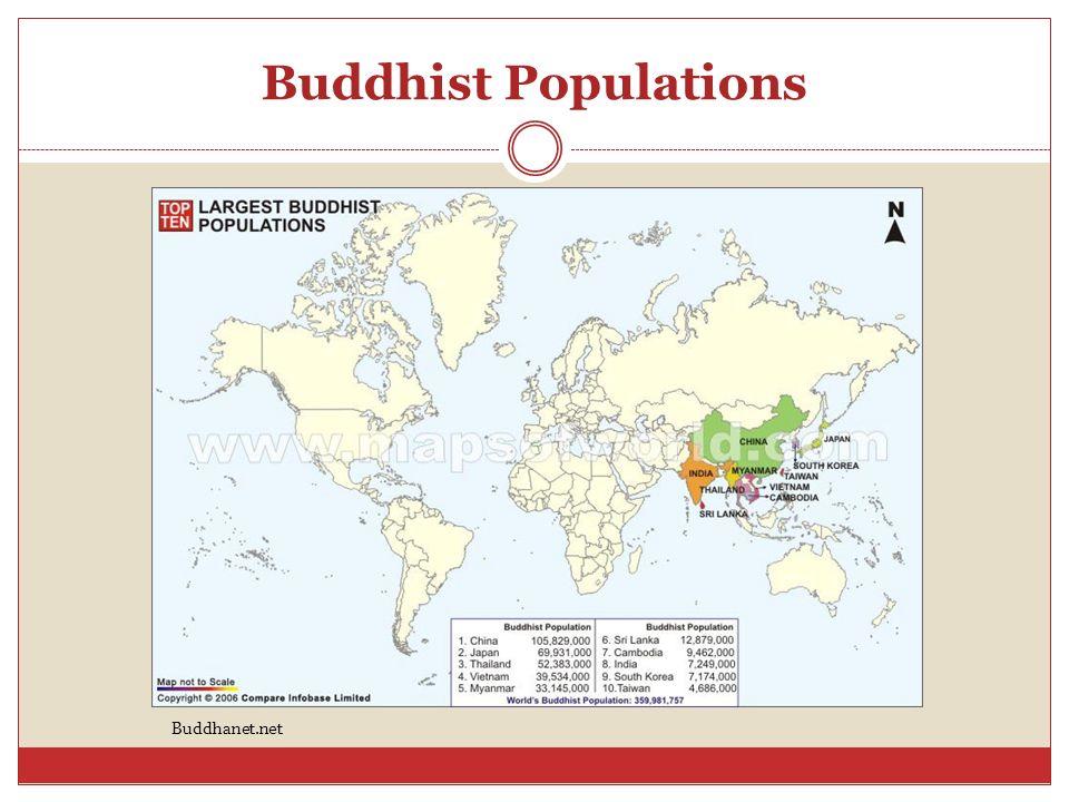 Buddhist Populations Buddhanet.net