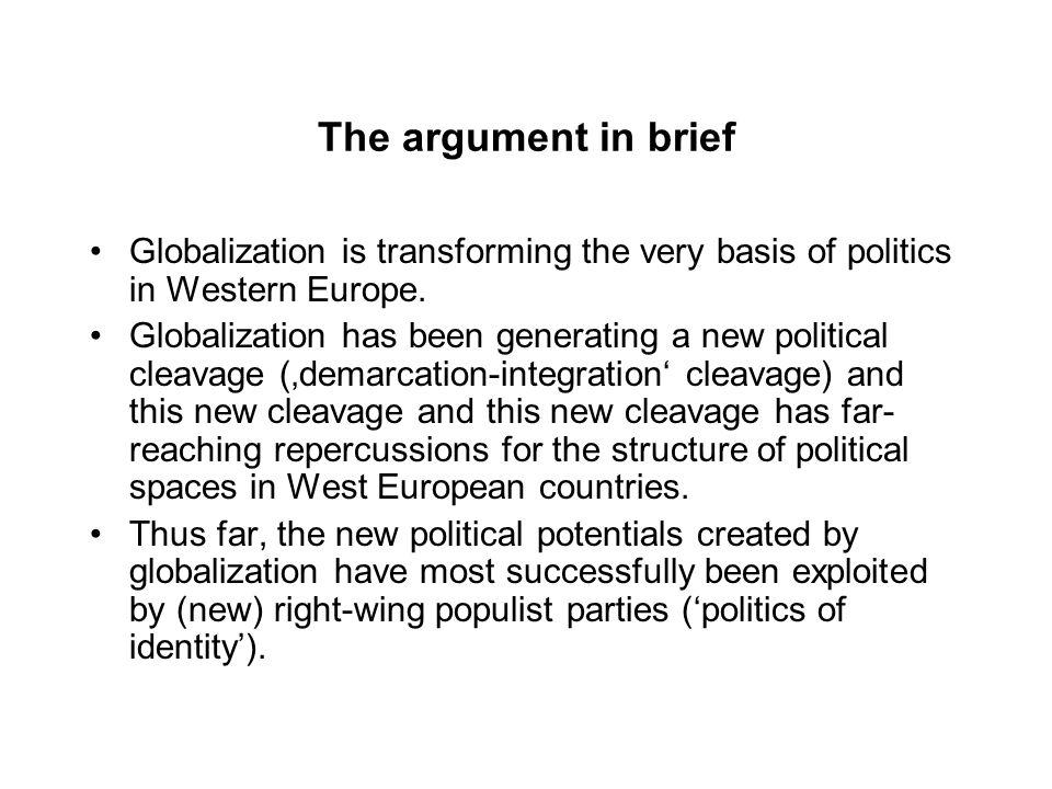 globalisation argument Argumentative essay on globalization globalisation is understood as a writing your argument essay now that you are familiar with techniques.