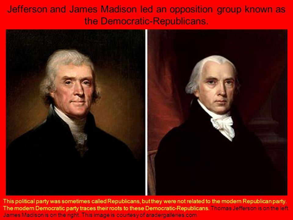 how thomas jefferson went against the principles of the democratic republicans