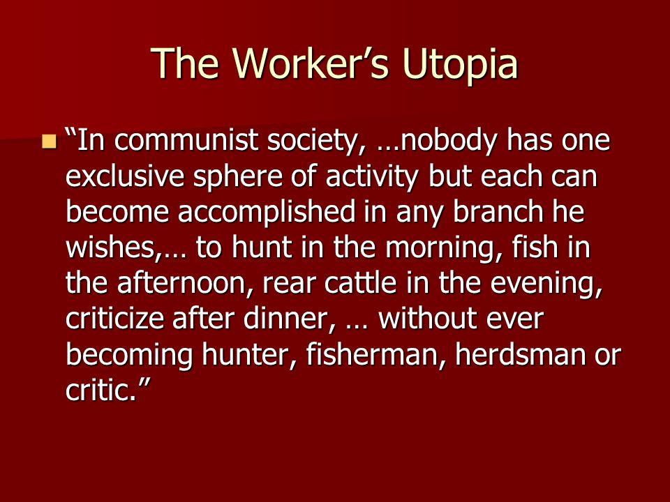 Criticite definition of communism