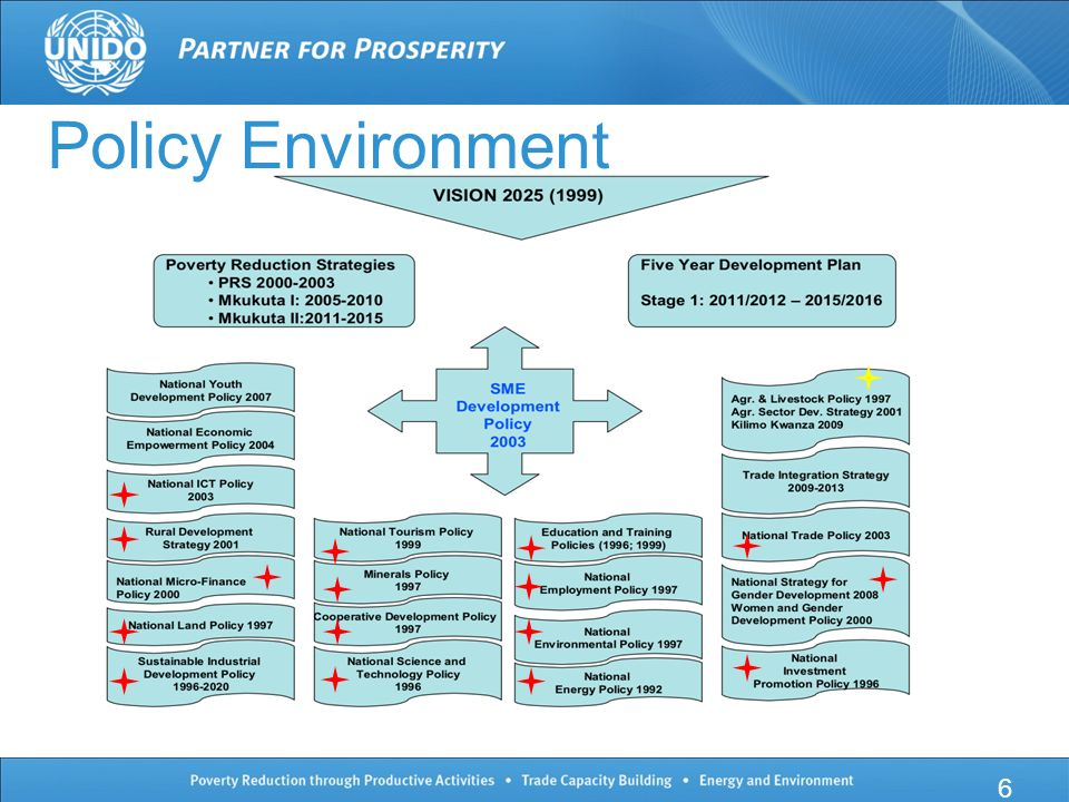 6 Policy Environment