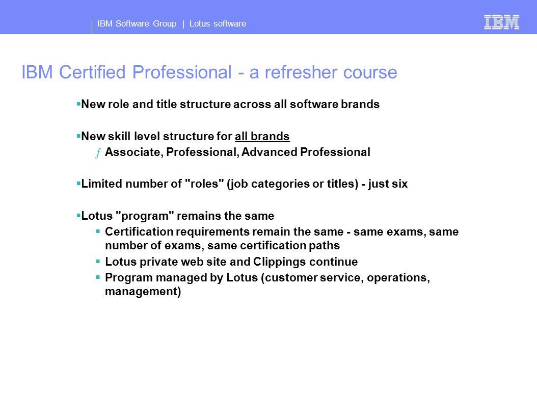 Ibm software group lotus certification update barbara bowen 3 ibm 1betcityfo Choice Image