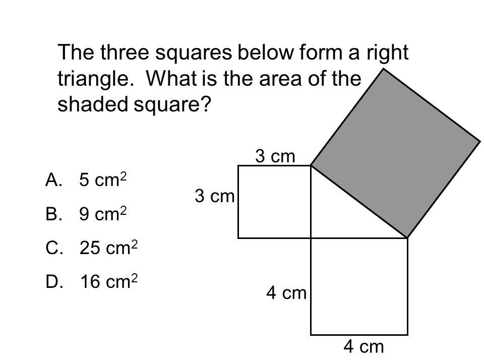 "Presentation ""Pythagorean Theorem Review 5 Questions. If a ..."