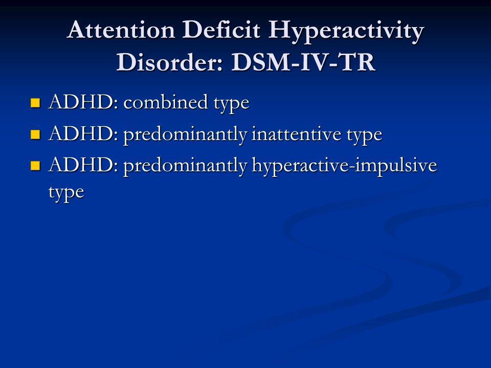 Attention Deficit Disorder Neurontin