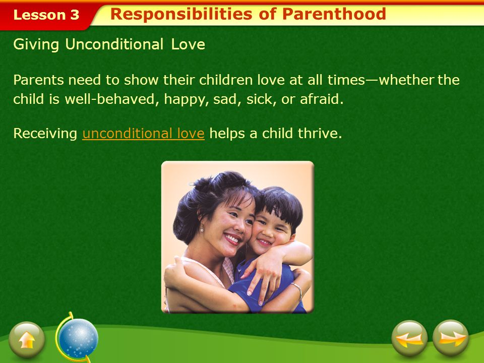 Lesson 3 Guidelines to Follow When Disciplining Children Act quickly so that children understand the link between misbehavior and consequences. Distin