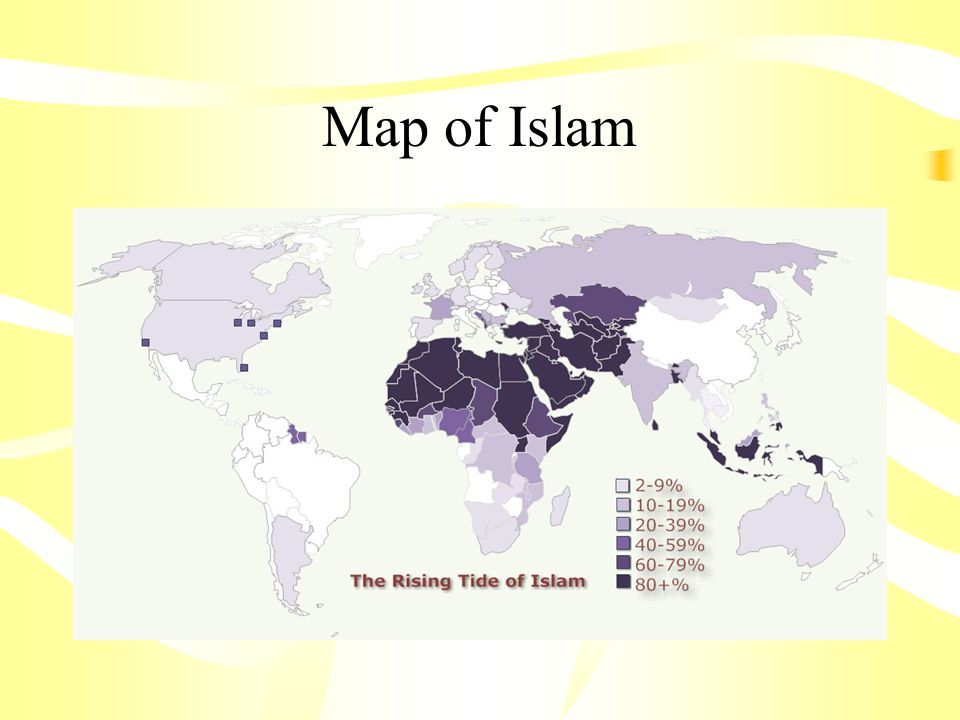 Map of Islam